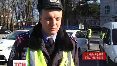 Справжні перегони влаштували викрадачі автівки у Хмельницькому