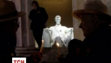 Десятки людей отметили 150-летие со дня убийства Авраама Линкольна