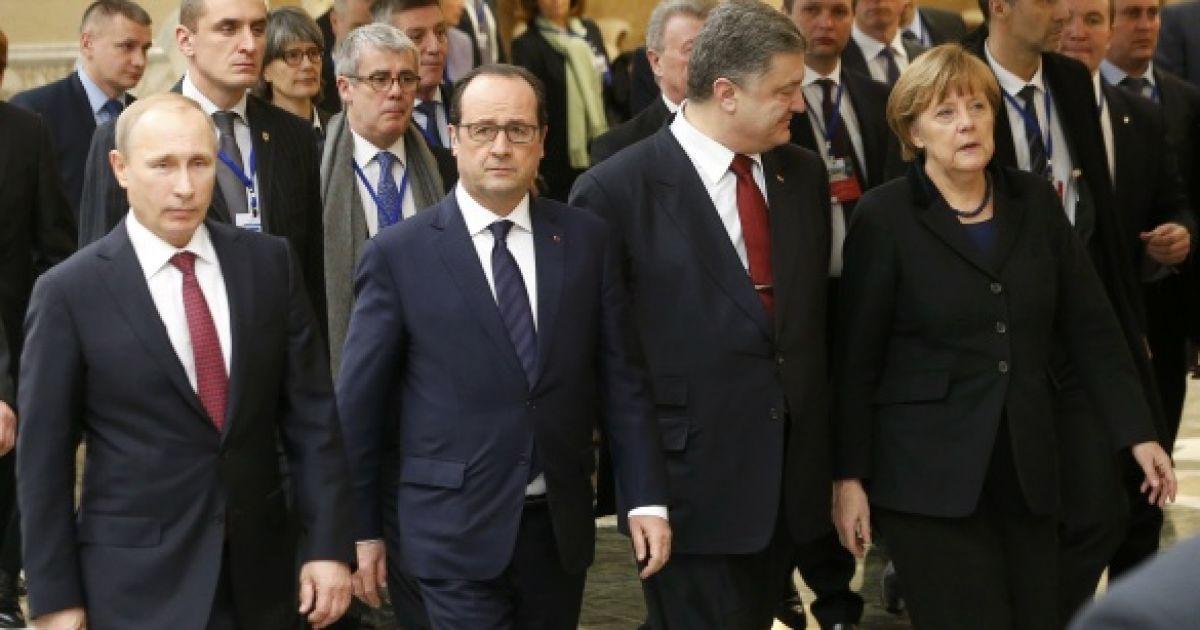 """В Париже состоится встреча """"нормандской четверки"""" за закрытыми дверями"""