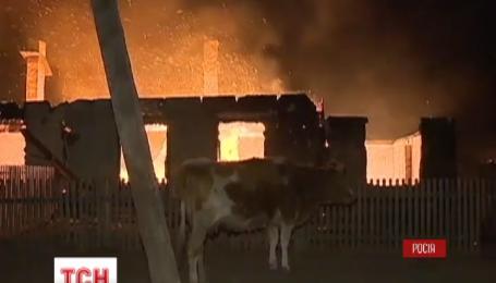 Чиновники Забайкальського краю відповідатимуть за пожежі в Сибіру