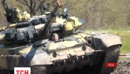 Россия начала танковые военные учения в Краснодарском и Ставропольском крае