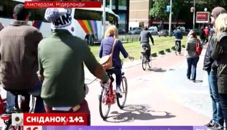 Украинцев призвали пересесть на велосипеды