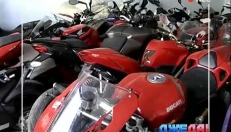 В Сумах 37 краденых спортивных мотоциклов выставят на аукцион