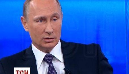 Путін заявив про відсутність імперських амбіцій у Росії