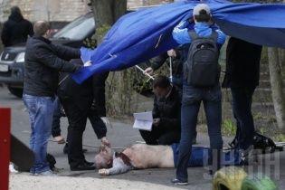 З'явилися перші детальні фото з місця вбивства Олеся Бузини (18+)