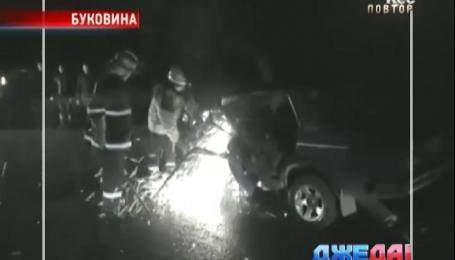 На Буковине в результате ДТП погиб человек