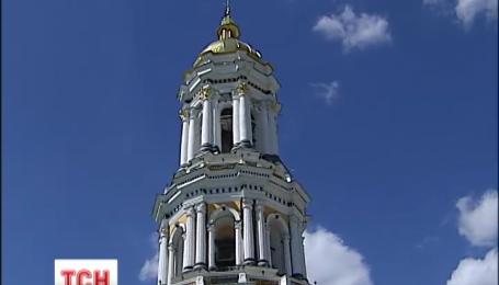 В Киево-Печерской Лавре сегодня торжественно открыли вход на большую колокольню