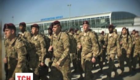 290 военных 173 воздушно-десантной бригады США прибыли во Львов