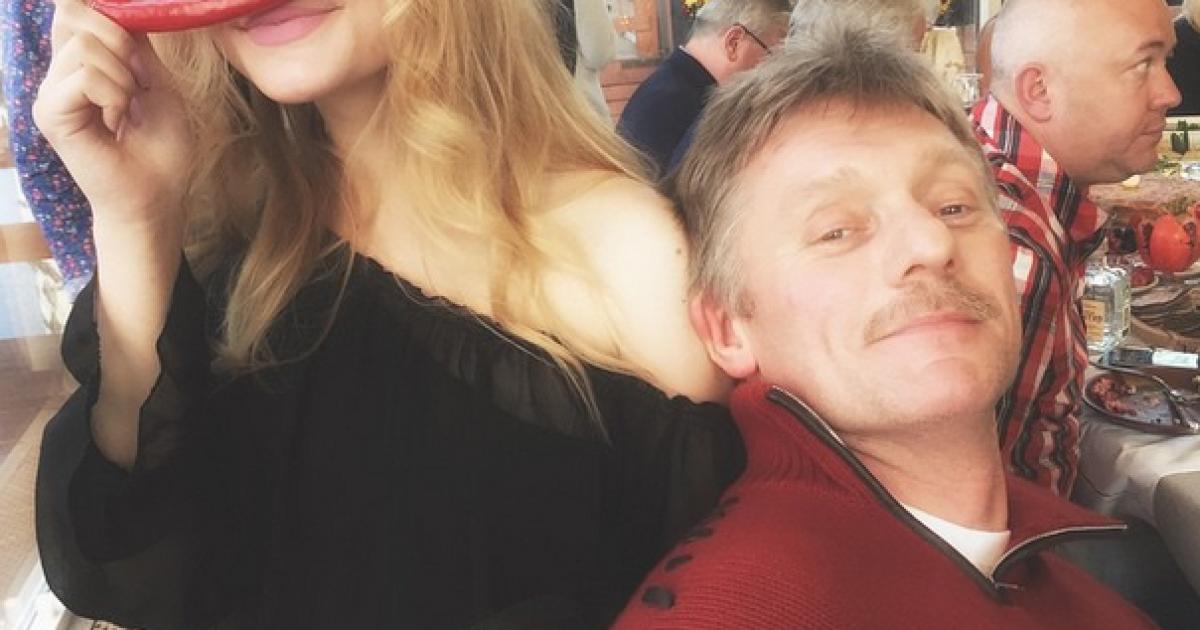 Дочь Пескова заявила, что свадьбы пресс-секретаря Путина и Навки не было