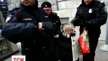 У Москві поліція затримала чотирьох російських опозиційних активістів