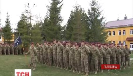 На Яворівському полігоні відкрили українсько-американські командно-штабні навчання