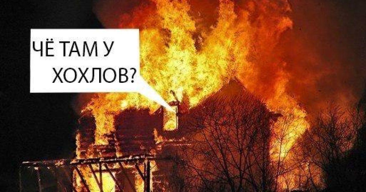 Россиян троллят в социальных сетях @ twitter.com/CatDemokrat