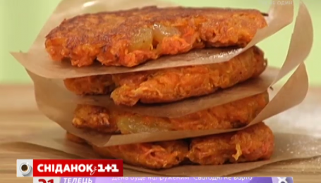 Рецепт ніжних морквяних оладків переможниці від переможниці другого сезону «Пекельної кухні»