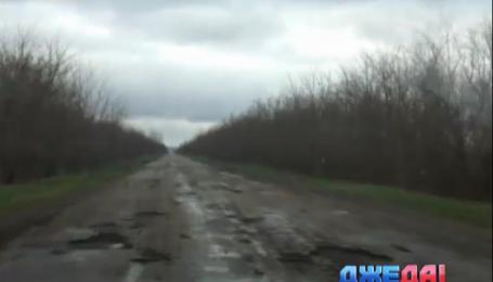 В рейтинг самых худших дорог Украины попала трасса Запорожье - Мариуполь