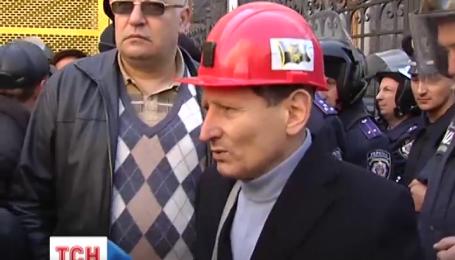 Протестующие шахтеры требуют отставки министра энергетики