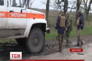 """Диверсанти """"ДНР"""" примудряються закладати протитанкові міни в тилу сил АТО"""
