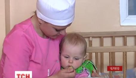 На сходах дитячої лікарні у Чернігові знайшли дитину