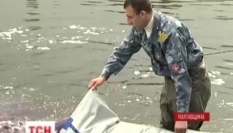 В Кременчугское водохранилище выпустили 5 тонн карпа