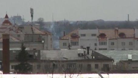 В российском городе Орел взорвался и загорелся магазин-склад пиротехники