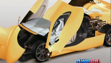 Американцы продемонстрировали автомобиль из восьмилитровым двигателем