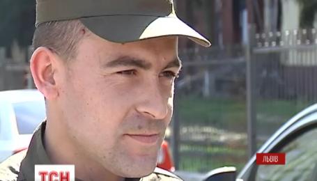 Во Львове бойцы Нацгвардии случайно поймали подозреваемого в изнасиловании ребенка