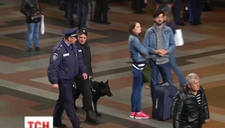 На залізничному вокзалі у столиці на травневі свята посилять охорону