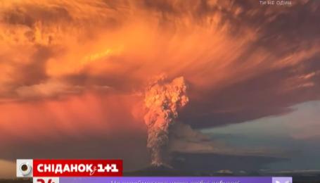 В Чили проснулся вулкан, ставший 42 года