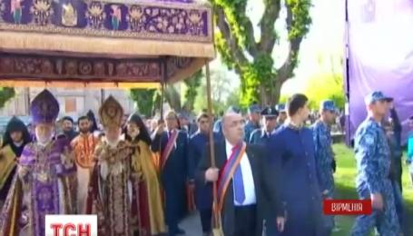 Урочистості на честь100-річчя вірменського геноциду розпочалися в Єревані