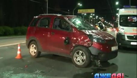 ДТП с участием двух легковых автомобилей произошло на Воздухофлотском проспекте