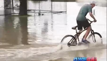 Дороги австралийского штата Новый Южный Уэльс ушли под воду