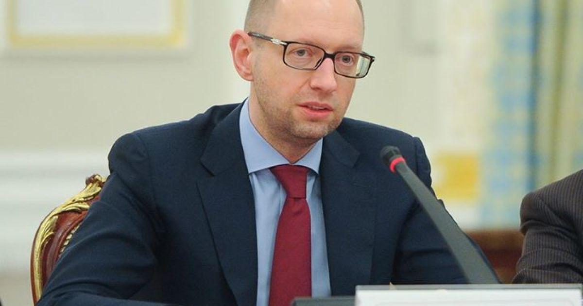 Кабмін отримав подання на звільнення Лікарчука - Яценюк