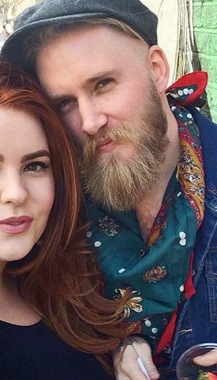 Тесс Холлидей с женихом Ником @ instagram.com/tessholliday