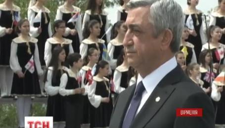 В Ереване почтили память жертв армянского геноцида