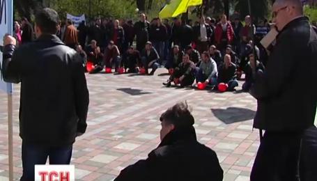 Шахтеры после трех дней митингов получили приказ разъезжаться