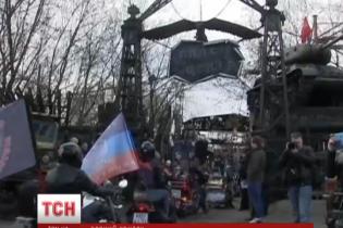 """Путинские """"Ночные волки"""" наплевали на запрет Польши и отправились в мотопробег на Берлин"""