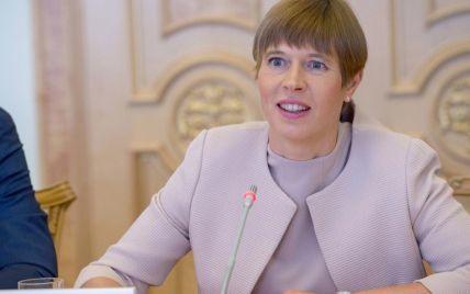 """Україну відділяють від Єврсоюзу """"світлові роки"""" – президентка Естонії"""