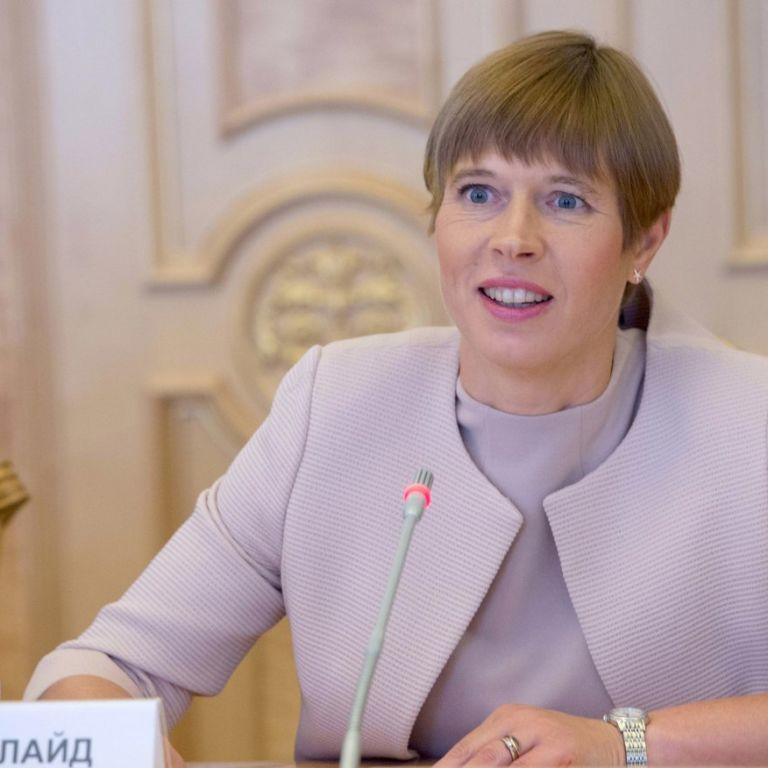 Президент Естонії заявила про необхідність переведення всіх шкіл на естонську мову