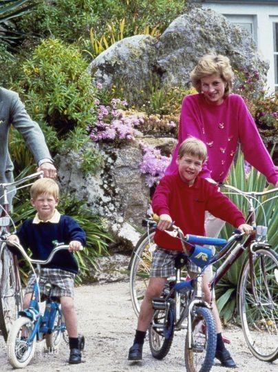 Принц Гаррі з сім'єю / © Associated Press