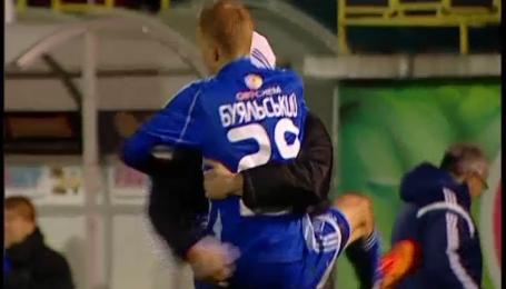 Динамівець Буяльський забив найкращий гол 20-го туру чемпіонату України