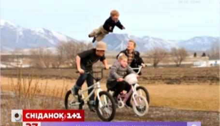Малыш с синдромом Дауна умеет летать