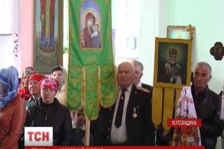 Херсонское село взбунтовалось против Московского патриархата из-за нежелания поминать погибших в АТО