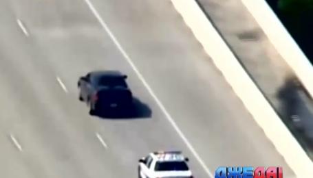 В Хьюстон преследование беглеца закончилось стрельбой