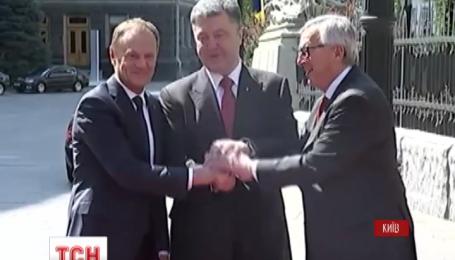 В Киеве начал работу 17 саммит Украина - Евросоюз