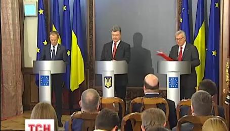 По результатам саммита в Киеве лидеры ЕС призвали Россию освободить всех заложников