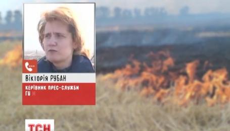 Пожежу біля Чорнобиля вдалося локалізувати