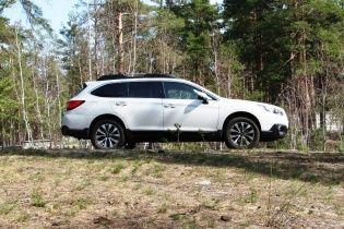 Видеотест-драйв Subaru Outback 2015