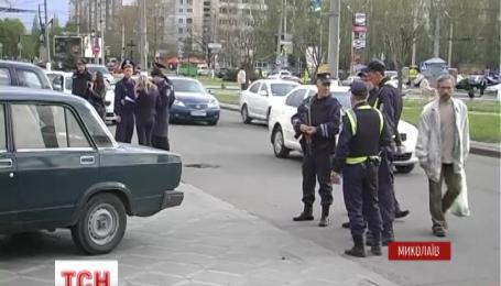 В Николаеве напали на клиентку одного из банков