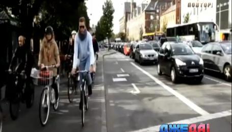 В Дании перед велосипедистами всегда будут включать зеленый свет