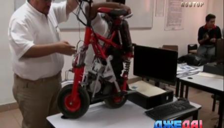 Мексиканский студент создал мотоцикл с почти вечным двигателем