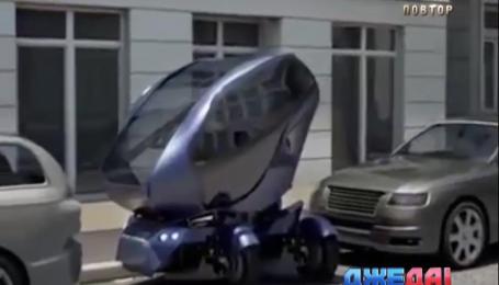 Немецкие инженеры создали автомобиль-краб, который умеет ездить боком